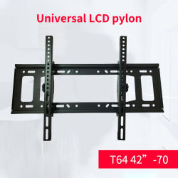 رف للتثبيت على الحائط للتلفزيون منخفض الارتفاع مقاس 42 بوصة ′ -70 بوصة تلفزيونات LED LCD OLED بشاشة مسطحة مقاس بوصة