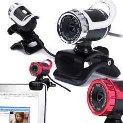 Insegnamento del video del USB del webcam del calcolatore HD video microfono fonoassorbente della macchina fotografica in tensione
