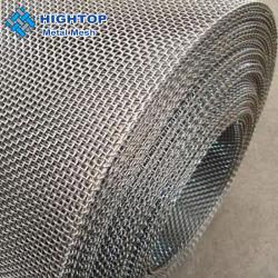 SUS304 316 304L 316 L Stainless Steel Wire Mesh Chiffon tissé