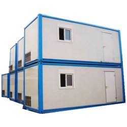 Estrutura de aço pré-fabricados de luxo Flat Pack Prédio da Casa de contentores