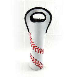 De Koelere Zak van de Fles van de Wijn van het Neopreen van het Af:drukken van het honkbal