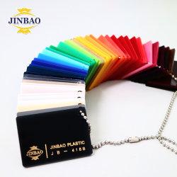 Curva Jinbao Jeddah 18mm los paneles de resina de MMA Mayorista de Arte 040 de la Junta de plexi blanco lechoso luminosa LED acrílico hoja
