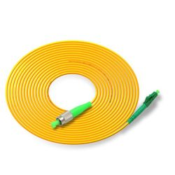 Faible perte d'insertion de haute qualité prix bon marché à fibre optique LC FC de Cavalier St UPC / APC 2,0MM 3m unique optique LC/APC FC/UPC Cordon de raccordement à fibre optique