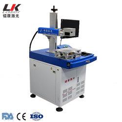 máquina de marcação a laser de fibra óptica de aço Ezcad equipamento de gravação a laser