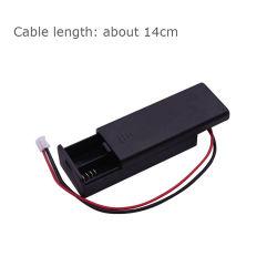 실리콘 케이스 보호 커버 + 베이트한 홀더 케이스 BBC Micro:bit Microbit Kids Education용 AAA 배터리 2개 사용 3V pH2.0