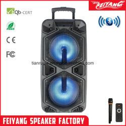 Duplo Feiyang 10'' Grande Potência Carrinho Speaker com bateria recarregável SL210-10