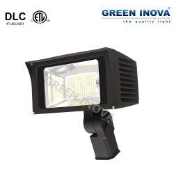 Dlc ETL IP65 Светодиодный прожектор заливающего света на открытом воздухе светильник прожектор с 6 лет гарантии
