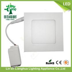 6 Вт круглые квадратные потолочные светильники акцентного освещения Slim 85-265V светодиодная панель освещения