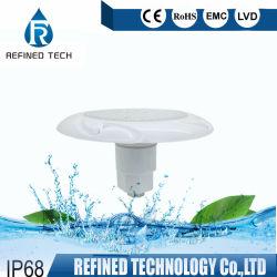 """Le contrôle WiFi blanc RVB 18W 24W 35W en fibre de verre 1-1/2"""" a conduit la lumière de la piscine de 2 pouces de la lampe avec ce sous-marine RoHS"""