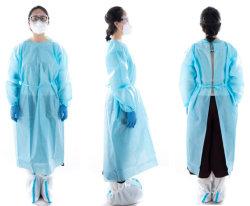 Изоляционный костюм/30+лет Заводская/ISO одноразовый защитный костюм для медицинского применения SMS ЧП PE