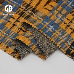 Diseño clásico de hilo tejido Jacquard Kintted teñidos de prendas de vestir