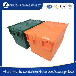62L China Alta Calidad Nido y Pila de Plástico Contenedor Móvil / Caja para Almacenamiento
