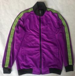 남자의 트리코 궤도 재킷, 스쿠버 뜨개질을 하는 직물 재킷, 스포츠 재킷