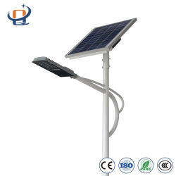100 W Solarlampe Outdoor, 2014 Bridgelux Chip LED Solar Street Light, Solarstromanlage, Ce/Soncap Zertifikat