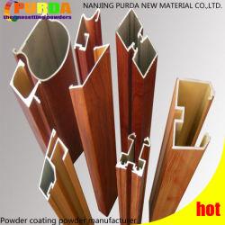 建築材のコートのアルミニウム装飾の木製の穀物の粉のコーティング