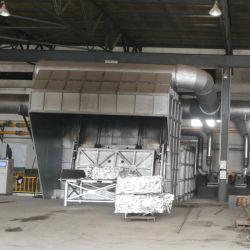 Régénératrice de four de fusion en aluminium et de la machine de moulage de billettes d'aluminium Aluminium Aluminium four de fusion de ferraille four de fusion