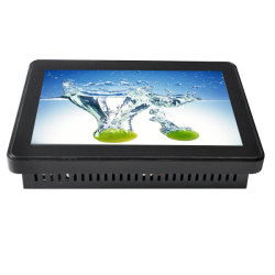 """Processore Intel Core Celeron CPU da 10,1"""" per montaggio in rack Touch All in One Mini PC computer OEM con pannello WiFi elettronico"""