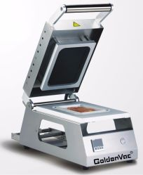 Goldenvac Gd-A Commercial Food Manual Tray Sealing machine, Tray Sealer