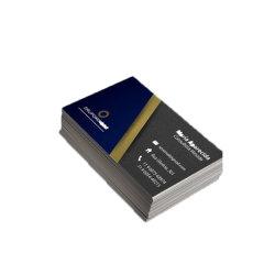 El diseño más reciente de la Plata personalizada Gofrado Nombre Comercial Card