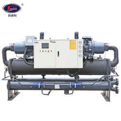 80-360Anticorrosión de HP de ciclo económico Industrial de enfriadores de tornillo refrigerado por agua