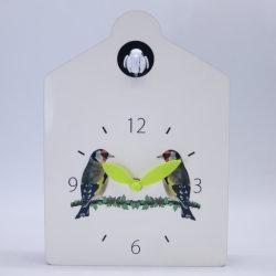 Reloj de Cuco madera Sonidos Animales pájaro sale Reloj de pared