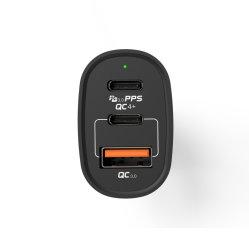 고속 충전 3.1 듀얼 USB 전화 충전기 Bluetooth 차량 FM 송신기 MP3 플레이어 포함 키트