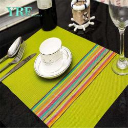 Yrf высококачественных квадратных виниловых детский ужин коврик Placemats тепла противостоять машинная стирка в таблице тканью