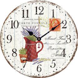 De madera personalizado Reloj de sobremesa barato pequeño MDF
