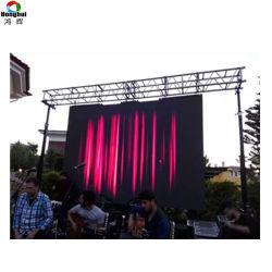 P6.67 Alquiler de pantalla de vídeo en el estadio al aire libre de signos signo mensaje LED