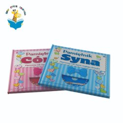 Высокое качество Детский Фотоальбом книги с CD КНИГИ