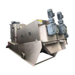 Nettoyeur haute pression, presse à vis de la plaque de déchets de l'huile de transformateur d'assèchement de la machine pour le génie municipal