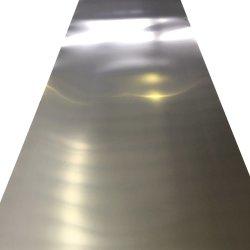 304 316 316L 409 430 laminados a frio 2b Ba acabamento espelhado decorativos de placa de aço inoxidável
