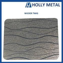 Edelstahl-Muster prägte geätztes Blatt für Gebäude-Wand-Höhenruder-Oberfläche