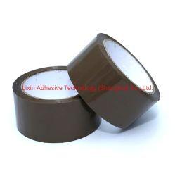 브라운 컬러 Bopp OPP 자체 접착식 포장 테이프 상자 밀봉 테이프