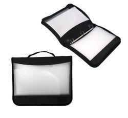 Venta caliente diseñador portátil de plástico de protección de la estraza Bolsa Archivo de artículos de papelería