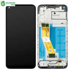 شاشة عرض LCD بالجملة شاشة اللمس جهاز الالتقاط الرقمي لـ Samsung Galaxy A11 A115u SM-A115A A115m تجميع مع إطار