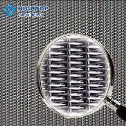 Des Edelstahl-24 x 110 Ebenen-holländisches gesponnenes Draht-Tuch des Ineinander greifen-304 316L
