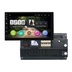 سيارة مشغل صوت ستريو متعدد الوسائط للسيارة بحجم 7بوصة بنظام Android 2DIN راديو FM WiFi GPS مشغل نظام فيديو