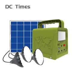 Eingebaute Batterie Gleichstrom-und USB-Ausgabe-intelligente Solarenergie