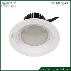 Smart DEL de capteur encastré Spotlight 20W conduit vers le bas du capteur de mouvement de lumière LED lumière au plafond