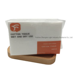 Hot Sale jetables en pur coton de femmes Nettoyant Facial doux serviette faciale