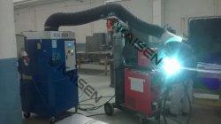 Limpador de fumaça de soldadura de Limpeza do Sistema de Purificação de Ar com marcação CE