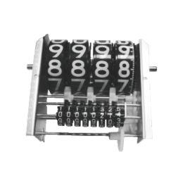 Précision compteur de débit de fioul gaz diesel à 4 chiffres
