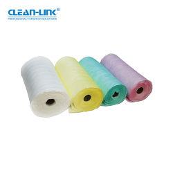 Materiali per sacchetti di polvere in fibra sintetica Clean-link per filtri a tasca