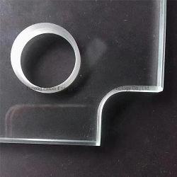 4-19mm Ultra Clear Float, weinig ijzer, warmtedoorweekte behandelde getemperde glazen, veiligheidsglas