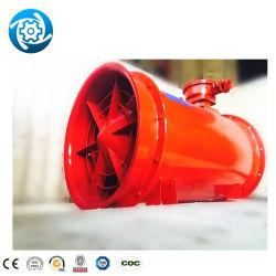 منافذ تهوية من الفئة موتور كهربائي كهربائية مقاومة للانفجار بقدرة 2×30 كيلووات FBD 6.0 نفق ومنجم فحم