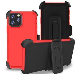 Defender el caso para el iPhone 11 6.1 Belt-Clip caso funda resistente de cuerpo completo el caso de uso intensivo, Shock/Drop/prueba de polvo 3in1 Cubierta de protección para el iPhone 11 6.1.