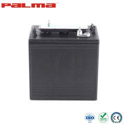 Palma AGM/Gel البطارية البطارية البطارية البطارية البطارية البطارية الصين المصنع Gc6-180s الرصاص الحمضية بطارية دورة عميقة ذات معدل تفريغ عالٍ جدًا لعربة الجولف