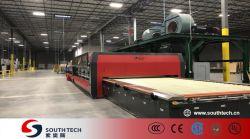 Southtech 수평한 롤러 난로 Vortech 대류 시스템 가격을%s 가진 에너지 절약 높은 능률적인 두 배 약실 강화 유리 제조 오븐
