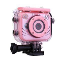 30m 방수 아이 디지탈 카메라, 3-10 살 아이들, 소형 재충전용 아이들 사진기를 위한 장난감 선물